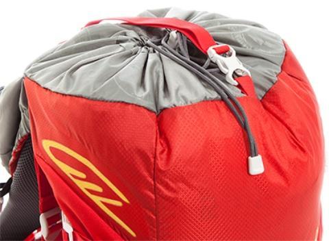 Утягивающийся вход + возможность увеличения объема - Спортивный рюкзак с подвеской X Vent Zero Vento 25 lemon