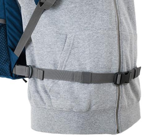 Регулируемый поясной ремень - Оригинальный городской рюкзак Flying Fox ocean