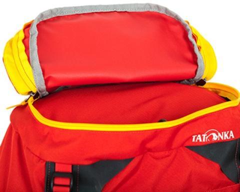 Карман в крышке рюкзака - Женский трекинговый туристический рюкзак Isis 60 red