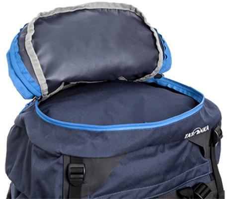 Большой карман в крышке рюкзака - Трекинговый туристический рюкзак для продолжительных походов Yukon 80