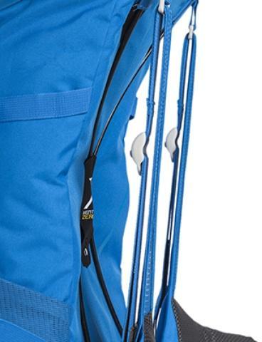 Уникальная система переноски X Vent Zero - нулевое соприкосновение спины и рюкзака - Походный рюкзак с верхней загрузкой Yalka 24