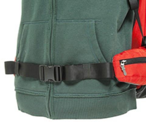 Регулируемый поясной ремень с двумя встроенными карманами на молнии - Универсальный рюкзак широкого применения Husky Bag cub