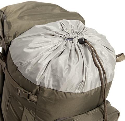 Утягивающийся вход в рюкзак + возможность увеличения объема - Прочный стул-рюкзак Petri Chair