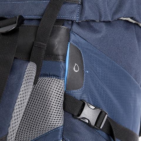Выход для питьевой системы - Универсальный трекинговый туристический рюкзак Yukon 60