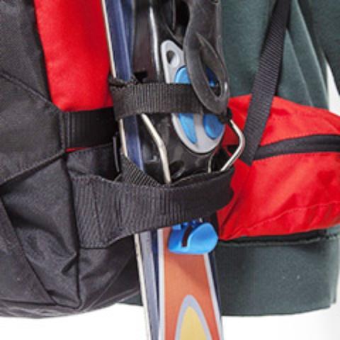 Крепление для лыж - Универсальный рюкзак широкого применения Husky Bag cub