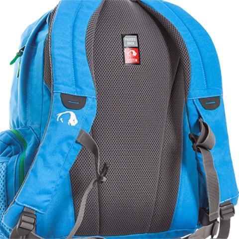 Мягкая но прочная спинка Padded Back - Городской рюкзак с множеством карманов Kangaroo bright blue