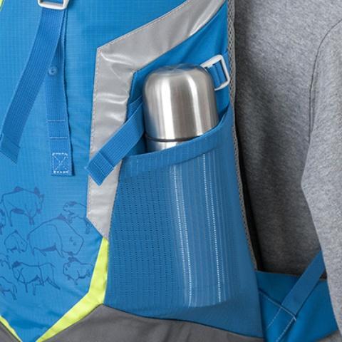 Боковой сетчатый карман - Яркий и удобный рюкзак для путешественников старше 10 лет Mani lawn green
