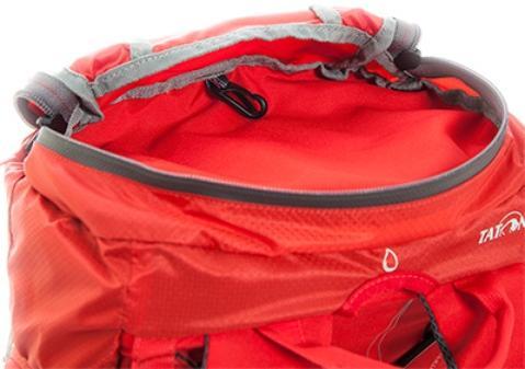 Просторный карман в крышке рюкзака - Спортивный рюкзак с подвеской X Vent Zero Vento 25 lemon