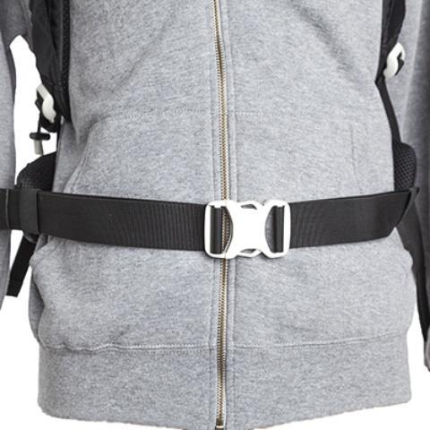 Регулируемый поясной ремень - Легкий спортивный рюкзак с фронтальной загрузкой Skill 30 red