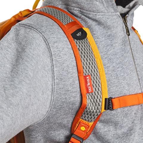 Сетчатые лямки анатомической формы - Легкий рюкзак для бега или велоспорта Baix 15