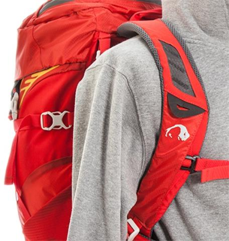 Легкие и удобные лямки анатомической формы - Спортивный рюкзак с подвеской X Vent Zero Vento 25 lemon