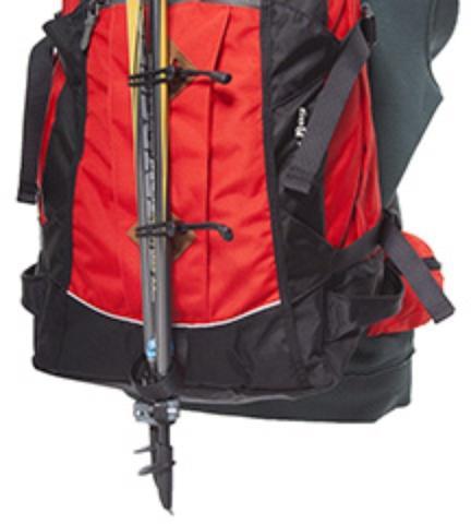 Крепление для одной или двух треккинговых палок - Универсальный рюкзак широкого применения Husky Bag cub