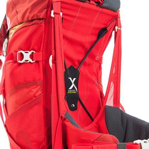 Уникальный система переноски: X Vent Zero: нулевое соприкосновение спины и рюкзака - Спортивный рюкзак с подвеской X Vent Zero Vento 25 lemon