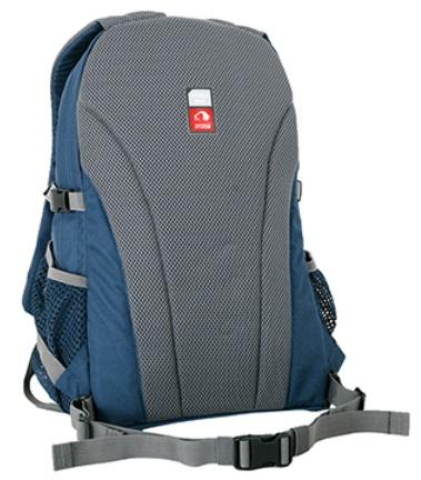 Мягкая, но прочная спинка Padded Back - Оригинальный городской рюкзак Flying Fox ocean