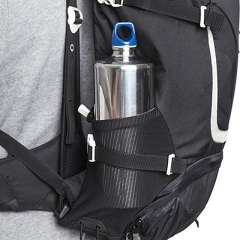 Боковые сетчатые карманы - Легкий спортивный рюкзак с фронтальной загрузкой Skill 30 red