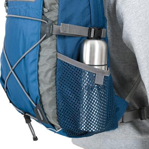 Боковые сетчатые карманы - Оригинальный городской рюкзак Flying Fox ocean