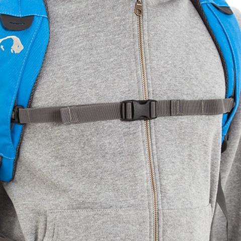 Регулируемый нагрудный ремень - Городской рюкзак с множеством карманов Kangaroo bright blue