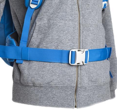 Регулируемый поясной ремень - Походный рюкзак с верхней загрузкой Yalka 24