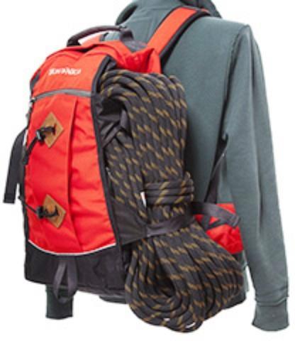 Боковые стропы можно использовать для крепления дополнительного оборудования - Универсальный рюкзак широкого применения Husky Bag cub