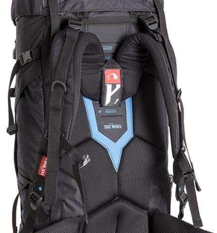 Система переноски Y1 - Универсальный трекинговый туристический рюкзак среднего объема Tamas 70 black