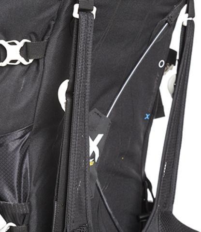 Уникальный система переноски: X Vent Zero: нулевое соприкосновение спины и рюкзака - Легкий спортивный рюкзак с фронтальной загрузкой Skill 30 red