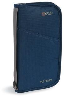 Плоская сумка для документов с защитой данных Travel Zip RFID navy