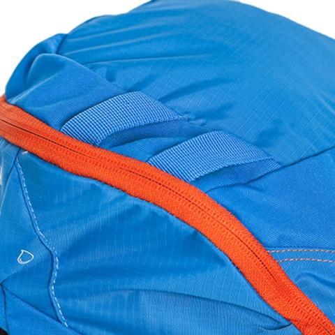 Петли на крышке рюкзака: можно закрепить куртку или шлем - Походный рюкзак с верхней загрузкой Yalka 24