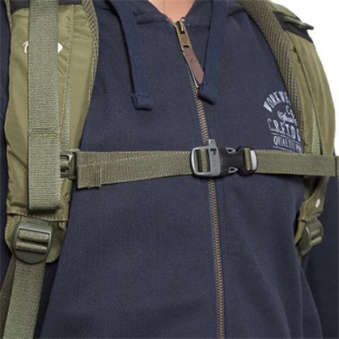 Регулируемый нагрудный ремень со свистком - Станковый рюкзак для переноски тяжелых грузов Lastenkraxe