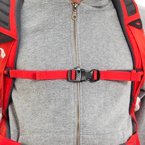 Регулируемый нагрудный ремень - Спортивный рюкзак с подвеской X Vent Zero Vento 25 lemon