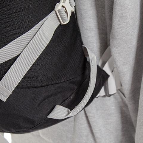 Нижние петли для карабинов или оттяжек - Легкий горный рюкзак Cima di Basso 35 blue/carbon