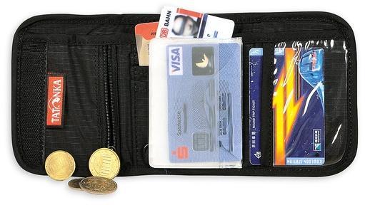 Компактный кошелек с защитой RFID Folder RFID B, black, 2951.040