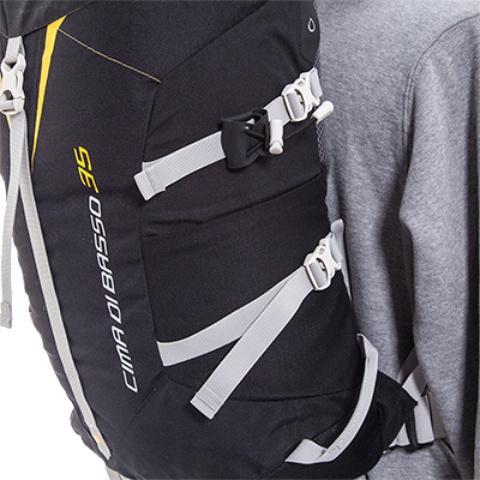 Боковые стяжки - Легкий горный рюкзак Cima di Basso 35 blue/carbon