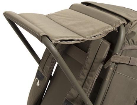 Широкое удобное сиденье с двойной прошивкой - Прочный стул-рюкзак Petri Chair