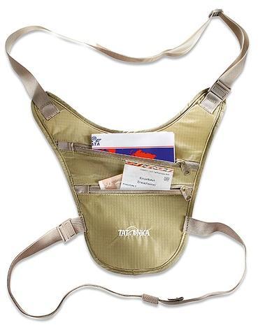 Сумочка-кошелек для скрытого ношения на шее Tatonka Skin Chest Holster 2859.225 natural