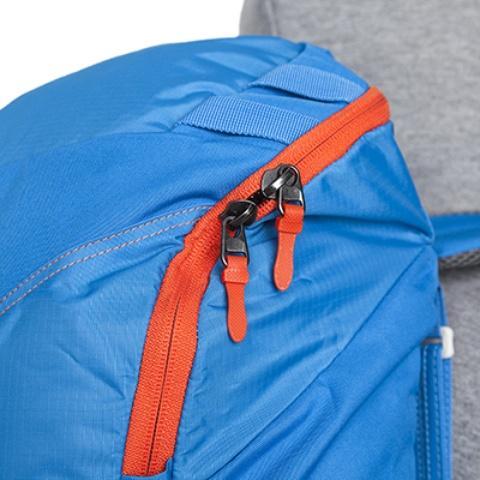Основная молния с двумя бегунками - Походный рюкзак с верхней загрузкой Yalka 24