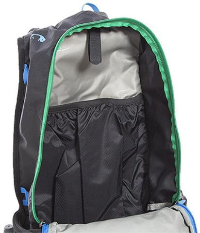 Внутренний карман на резинке в спине рюкзака - Легкий рюкзак для бега или велоспорта Baix 10