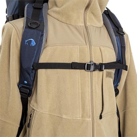 Регулируемый по ширине и высоте нагрудный ремень со свистком - Универсальный трекинговый туристический рюкзак Yukon 60