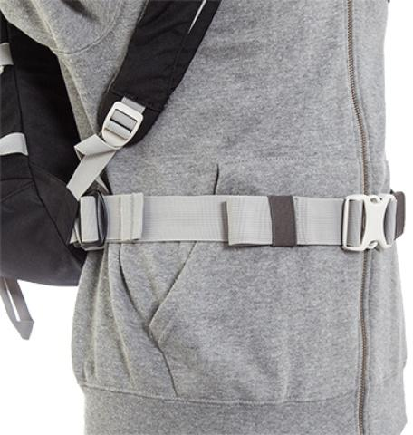 Съемный регулируемый поясной ремень - Легкий горный рюкзак Cima di Basso 35 blue/carbon