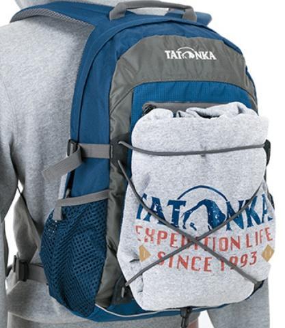 Прорезиненная стропа для крепления куртки или велошлема - Оригинальный городской рюкзак Flying Fox salsa