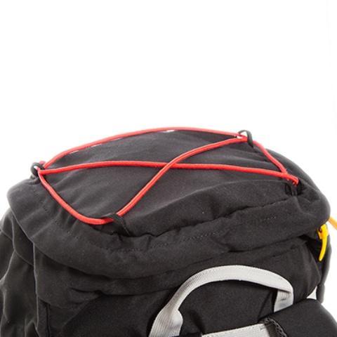 Петли в верхней части для крепления веревки или стропы - Легкий горный рюкзак Cima di Basso 35 blue/carbon