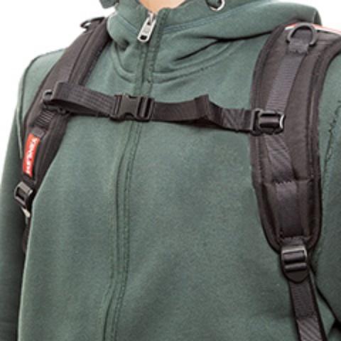 Регулируемый по высоте и ширине нагрудный ремень - Универсальный рюкзак широкого применения Husky Bag cub
