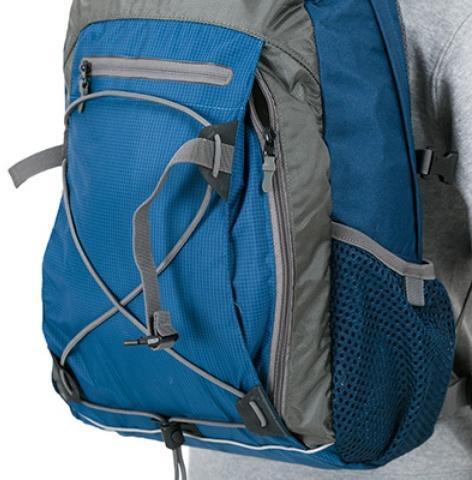 Просторный высокий карман на молнии - Оригинальный городской рюкзак Flying Fox ocean