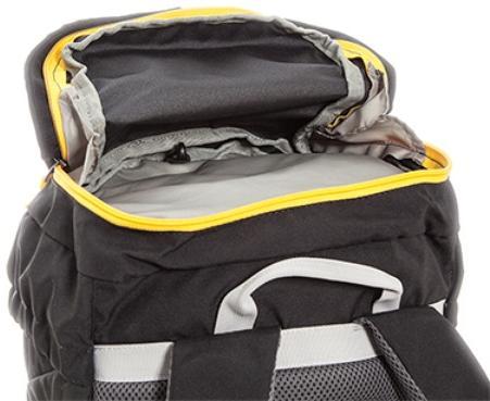 Карман в клапане рюкзака - Легкий горный рюкзак Cima di Basso 35
