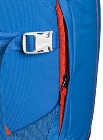 Центральный карман на молнии - Походный рюкзак с верхней загрузкой Yalka 24