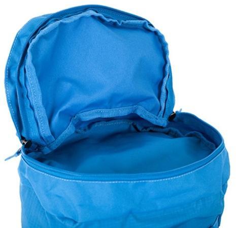 Просторный карман в крышке рюкзака - Яркий и удобный рюкзак для путешественников старше 10 лет Mani lawn green