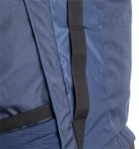 Стропы molle для навешивания подсумков - Трекинговый туристический рюкзак для продолжительных походов Yukon 80