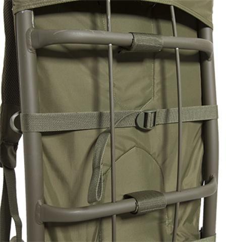 Рама крепится на регулируемые стропы и снимается при необходимости - Станковый рюкзак для переноски тяжелых грузов Lastenkraxe