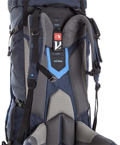 Система переноски V2 - оптимально распределяет нагрузку при переносе грузов средней тяжести - Трекинговый туристический рюкзак для продолжительных походов Yukon 70