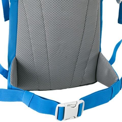 Мягкая но прочная спинка Padded Back - Яркий и удобный рюкзак для путешественников старше 10 лет Mani lawn green