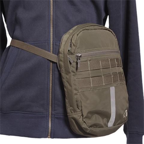 Съемный центральный карман превращается в поясную сумочку - Прочный стул-рюкзак Petri Chair